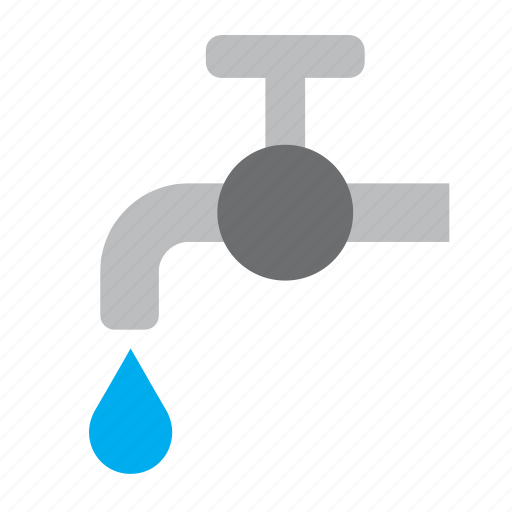environment, green, nature, save, tap, water icon