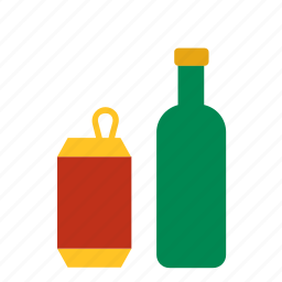 bottle, can, environment, glass, green, recycle, recycling icon