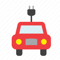 auto, car, eco, ecology, electric, electrical, transport icon