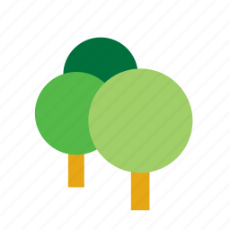 environment, forest, green, nature, tree icon