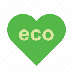eco, ecology, environment, green, heart, love, nature icon