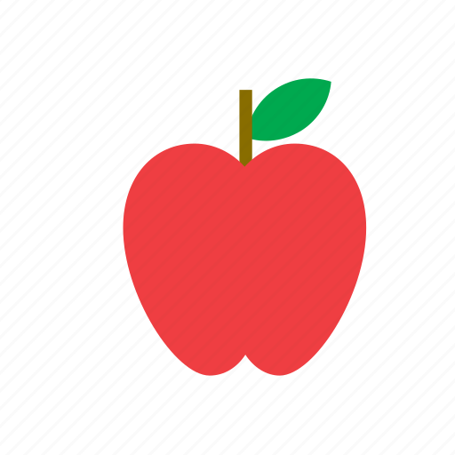 apple, food, fruit, nature icon