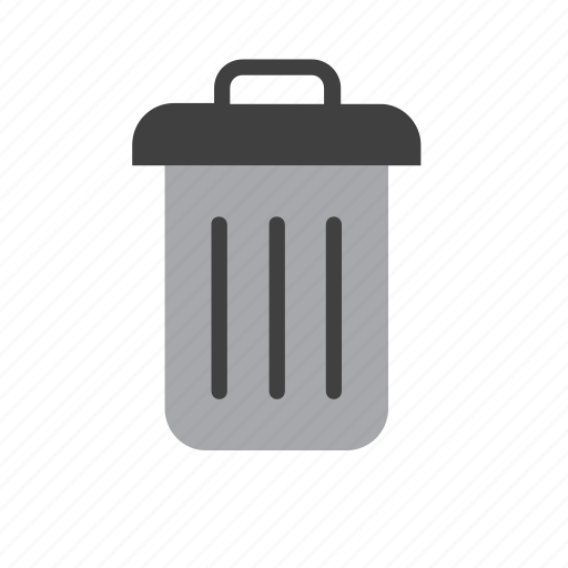 bin, can, garbage, paper, recycle, recycling, trash icon