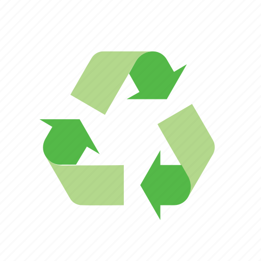 arrow, environmentalism, green, nature, recycle, recycling, sign icon