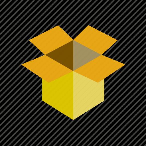 box, cardboard icon
