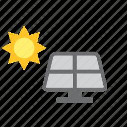energy, environment, green, nature, solar, sun icon