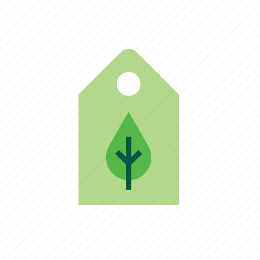 eco, ecology, green, label, leaf, nature, tree icon