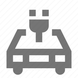 car, charge, eco, electric, green, nature, transportation icon