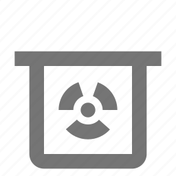 chemical, nuclear icon