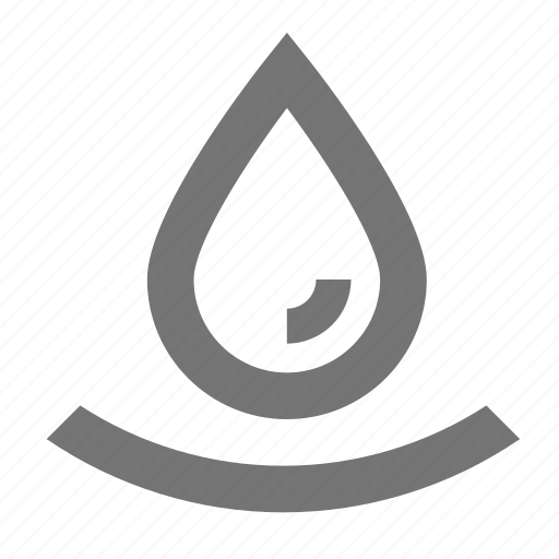 droplet, water icon
