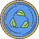 cycle, eco, ecology, green, leaf, nature