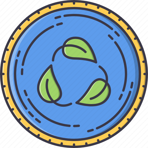 cycle, eco, ecology, green, leaf, nature icon