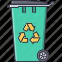 bin, eco, ecology, green, nature, recycling, trash