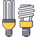 bulb, eco, ecology, energy, light, nature, saving icon