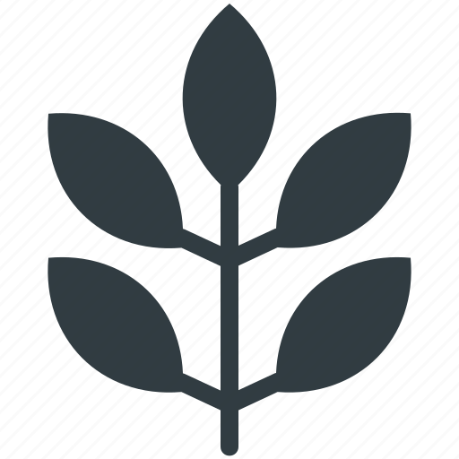 ecology, leaflet, leaves, nature, tree branch icon