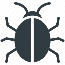 bug, cybercrime, malware, threat, virus icon