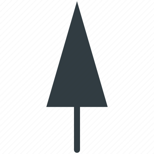 Cypress tree, evergreen tree, tree icon - Download on Iconfinder