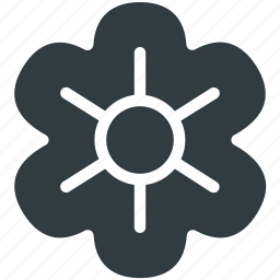 decoration, ecology, flower, leaf, nature icon