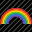 arc, color, colorful, light, pride, rainbow, spectrum