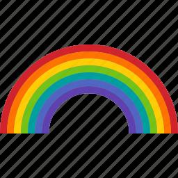 arc, color, colorful, light, pride, rainbow, spectrum icon