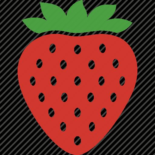 ananassa, fragaria, fruit, garden, red, seeds, strawberry icon