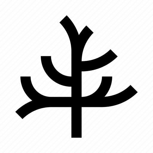 forest, nature, plant, tree, withered icon