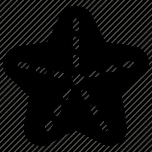 animal, marine, starfish icon