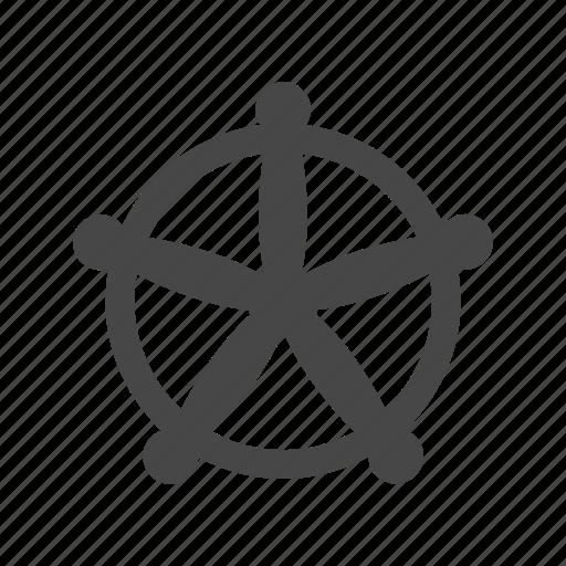 boat, nautical, sea, ship, ship wheel, wheel icon