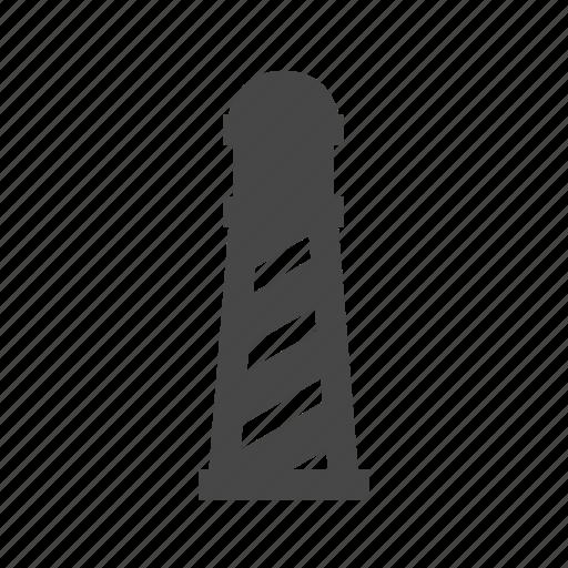 light, lighthouse, nautical, ocean, sea, shore icon