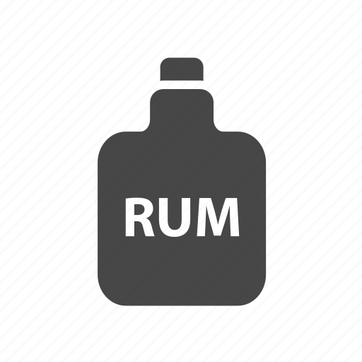 adventure, bottle, ocean, pirate, rum icon