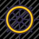 boat, nautical, sea, ship, ship wheel, wheel