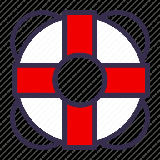 buoy, guardar, life, nautical, ocean, save, sea, ship icon