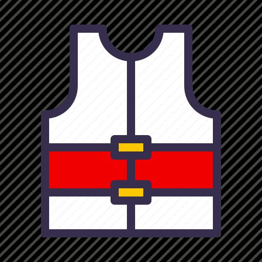 boat, jacket, life, nautical, sea, ship icon