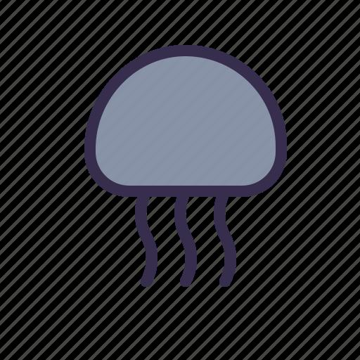 Animal, jellyfish, medusa, nautical, sea icon - Download on Iconfinder