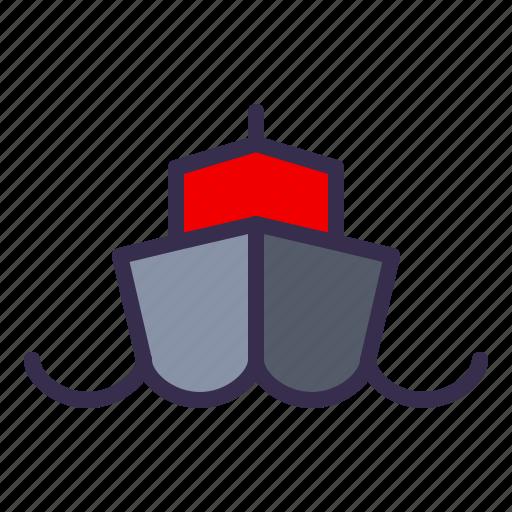 boat, nautical, ocean, sail, sea, ship icon