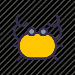 animal, beach, crab, nautical, sand, sea, shore icon