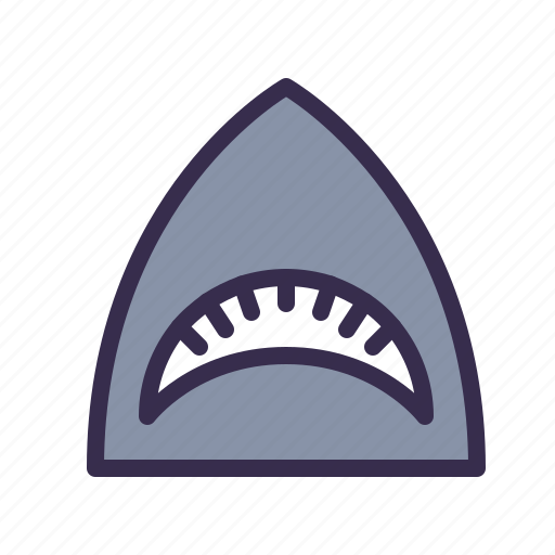 animal, mouth, nautical, ocean, sea, shark icon