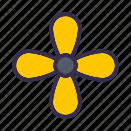 boat, engine, nautical, propeler, sea, ship icon