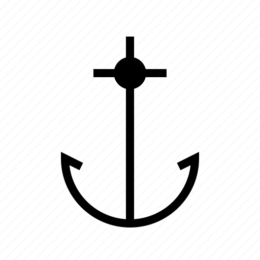 anchor, boat, nautical, ocean, sail, sea, ship icon