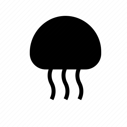 animal, jellyfish, nautical, ocean, sea, water icon
