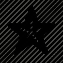 animal, fish, nautical, ocean, sea, star, starfish icon