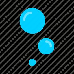 air, bubbles, diving, nautical, ocean, oxygen, scuba icon