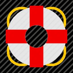 buoy, emergency, nautical, ocean, sail icon