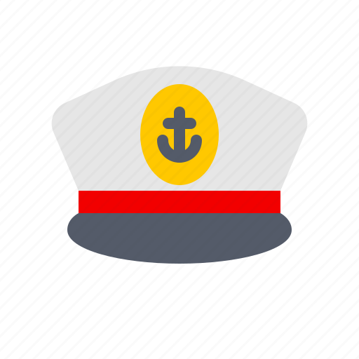 captain, hat, nautical, ocean, sail, sailor, ship icon