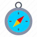 compass, nautical, navigation, ocean, sail, travel icon