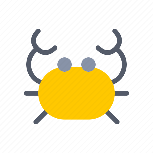 animal, beach, crab, nautical, ocean, sea, shore icon