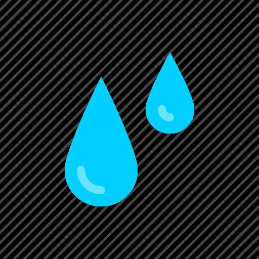 drops, nautical, rain, tears, water icon