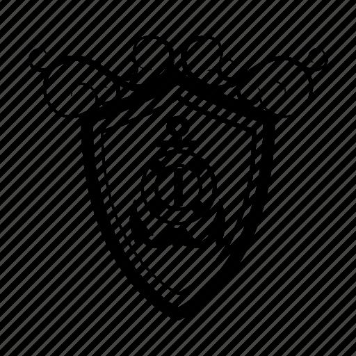 Anchor, buoy, emblem, marine, nautical, retro, seaman icon - Download on Iconfinder