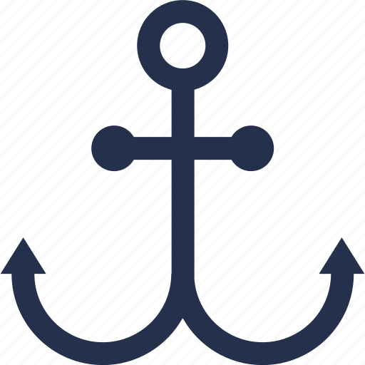 anchor, boat, ship icon