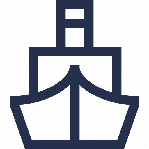 boat, cargo, cruise, ship icon